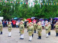 """Участие наших детей на концерте 9 мая  в парке """"Солнечный"""""""